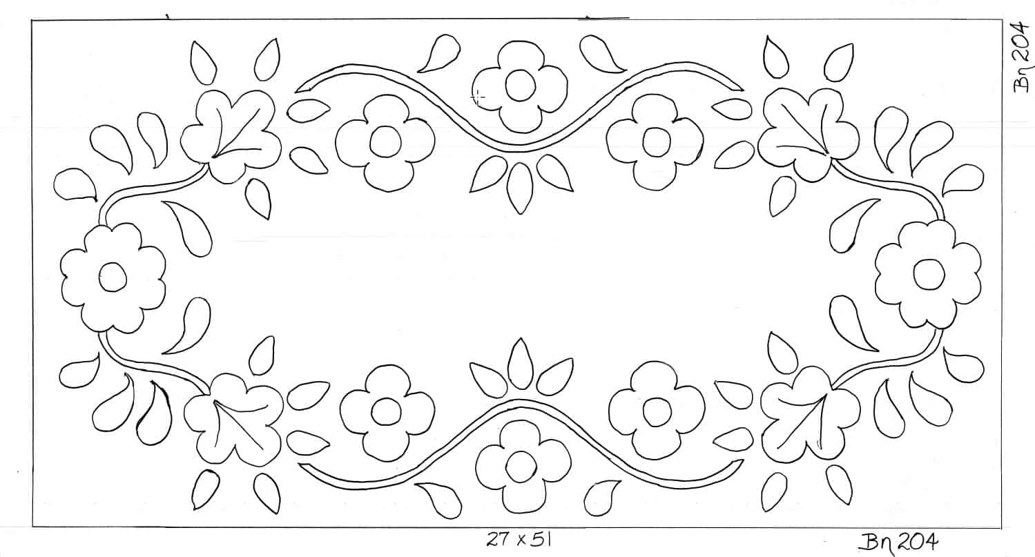 Bette Wrathall Pattern Roses and Flowers Floral