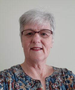Linda Alderdice -Past President and Chair of the Heritage Rug Registry Committee