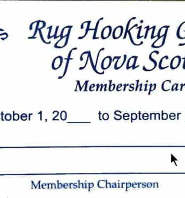 picture of the physical RHGNS Membership card